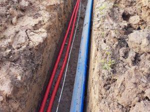 Lindhøj vandforsyning - råvandsledning